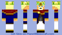 Tomislav - The famous Croatian king Minecraft Skin