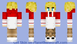 Tommyinnit with Hoodie Minecraft Skin