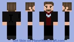 Tony Stark Endgame Minecraft Skin