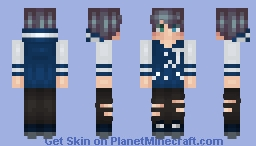 ❆𝓝𝓲𝓷𝓳𝓪𝓖𝓲𝓻𝓵2024❆ Too Cool For School Minecraft Skin