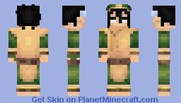 Toph Beifong Minecraft Skin