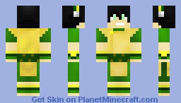 Avatar: The Last Airbender - Toph Minecraft Skin