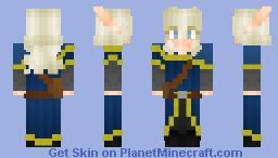Veris The Alchemist | High Elf From BOV Minecraft Skin