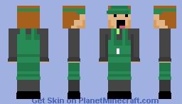 Tiny Tower barista bitizen Minecraft Skin