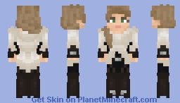 [LotC] [Commission] Aeira Mondblume - Town Friendly Minecraft Skin