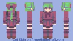 Toxine // My first SpeedSkin Minecraft Skin