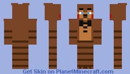 Toy Freddy Minecraft Skin