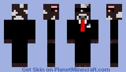 Agent Cow Minecraft Skin