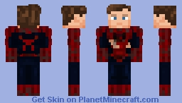 Tobey Maguire - Spider-Man 2 Train Scene Minecraft Skin