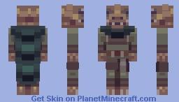Trandoshan Thug Minecraft Skin