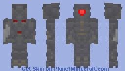 Transformers: DotM Shockwave (64x64) + Announcement Minecraft Skin