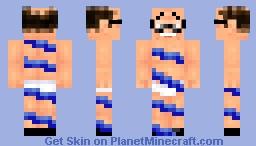trapped devito (Devito's incredible creative killer skins) Minecraft Skin