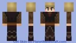 Frozen 2 Kristoff Minecraft Skin