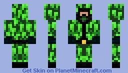Nature Assassin Minecraft Skin