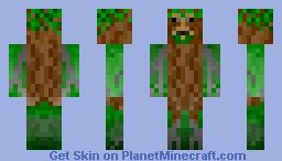 Treefolk (view in 3D) Minecraft Skin