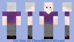 Trinity [With Blood and shading] Minecraft Skin