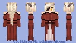 Triss Aduro - Formal 1 Minecraft Skin