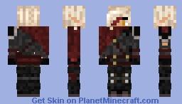 Triss Aduro - Combat Gear Minecraft Skin