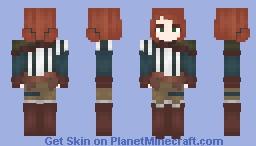 Triss Merigold TW2 Minecraft Skin