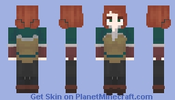 Miss Terigold Minecraft Skin
