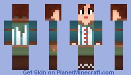 Triss Merigold - Witcher 2 Minecraft Skin
