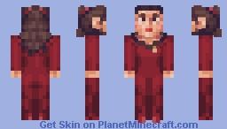 Counselor Deanna Troi Star Trek TNG Minecraft Skin