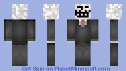||Troll In A Suit||Problem??|| Minecraft Skin