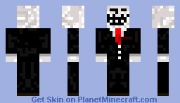 Troll Face Minecraft Skin