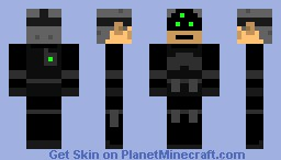 Sam Fisher Minecraft Skin