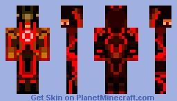 Tron - Red Minecraft Skin