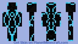 Tron (Blue) Minecraft Skin