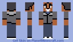 Troy Barnes -- Community (S03E20) Minecraft Skin