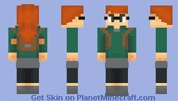 Infinity Train - Tulip Olsen Minecraft Skin