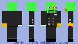 Turtle Suit Minecraft Skin