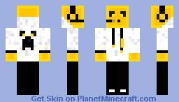 Turuncu Slime Minecraft Skin