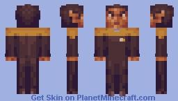 Commander Tuvok Star Trek Voyager Minecraft Skin