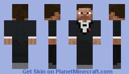 Tuxedo Steve (Minecraft Legacy Skins) Minecraft Skin