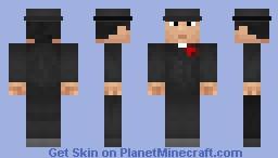 Man in tuxedo Minecraft Skin