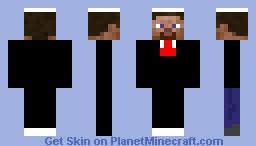 facy tux Minecraft Skin