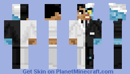 Two-Face (The Animated Series) Minecraft Skin