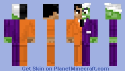 Two-Face (Classic) Minecraft Skin