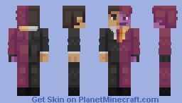 Batman Forever : Two-Face Minecraft Skin