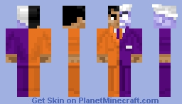 Two-Face (Lego) Minecraft Skin