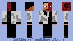 Two Face Minecraft Skin
