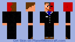 Two-Faced Guy (in Suit) Minecraft Skin