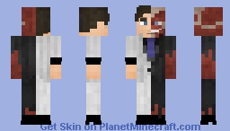 Two Face (Harvey Dent) Minecraft Skin