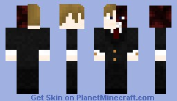 Two-face (from Batman) Minecraft Skin