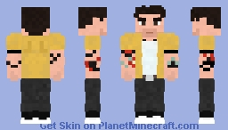 Tyler Posey Minecraft Skin