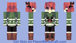 Day 4: ugly sweater // 12 Days of Skinmas Minecraft Skin