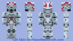 Ultron Minecraft Skin